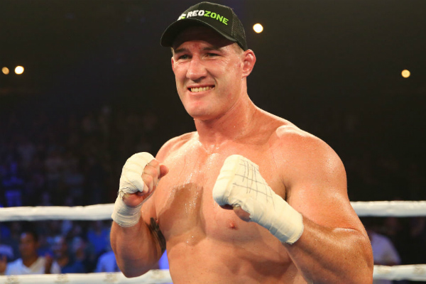 Article image for Paul Gallen reveals bout with Mark Hunt is looking 'positive'