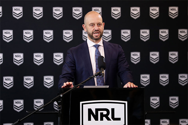 Article image for NRL boss Todd Greenberg steps down