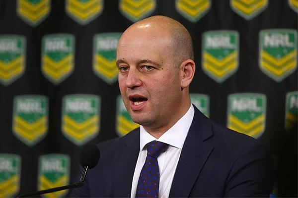 NRL boss reveals coronavirus impact on the game