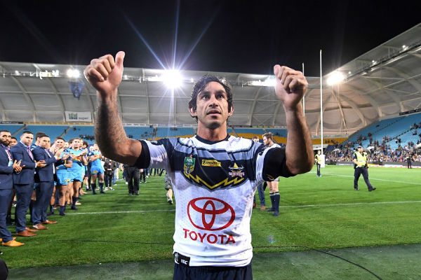 Johnathan Thurston reveals initial fear of life after footy