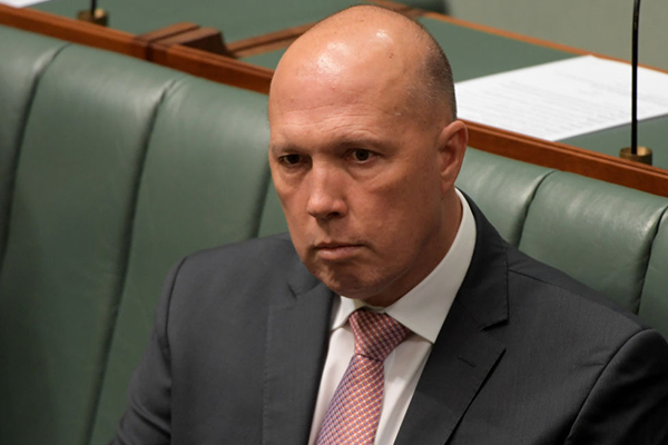 Peter Dutton provides update on his coronavirus diagnosis