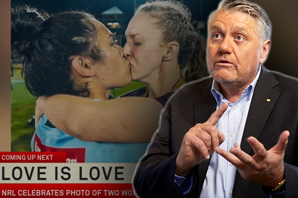Why Ray Hadley doesn't rate the NRL's revamped 'Simply the Best' ad
