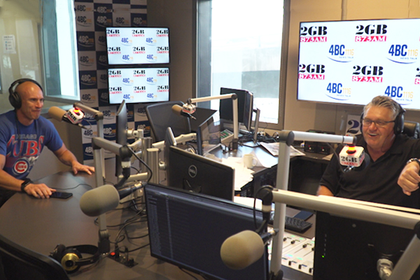Article image for Nova host Fitzy bursts into Ray Hadley's studio demanding an apology