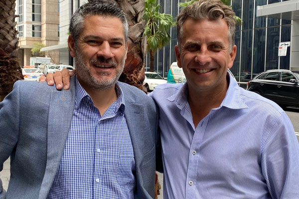 Article image for 'A small gesture but it means so much': Andrew Constance meets with 2GB listener