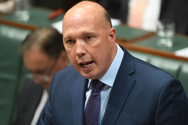 Impossible to test everyone at the border for coronavirus: Peter Dutton