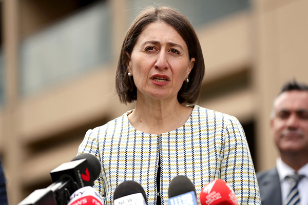 NSW Premier encourages students to stay home