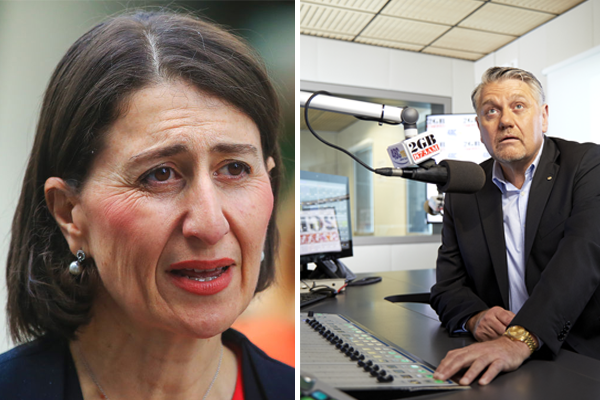 'I feel a bit stupid supporting you': Ray Hadley calls out Gladys Berejiklian