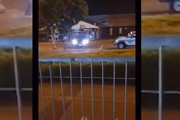 WATCH | Children filmed allegedly taunting police