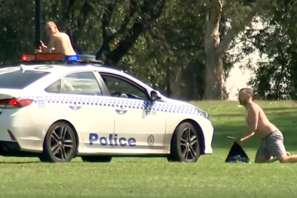 Sunbakers and picnickers targeted by police