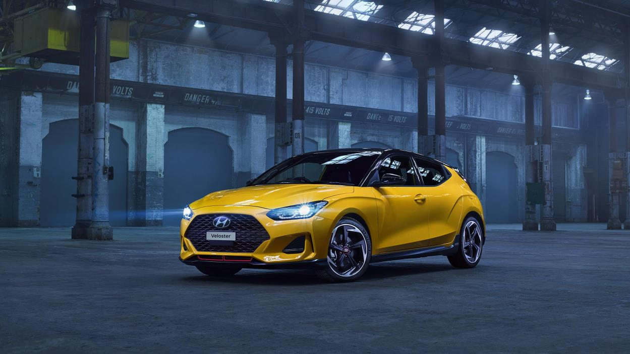 Hyundai's 1.6 auto turbo Premium Veloster Coupe – a top-spec sports model with the performance to satisfy.