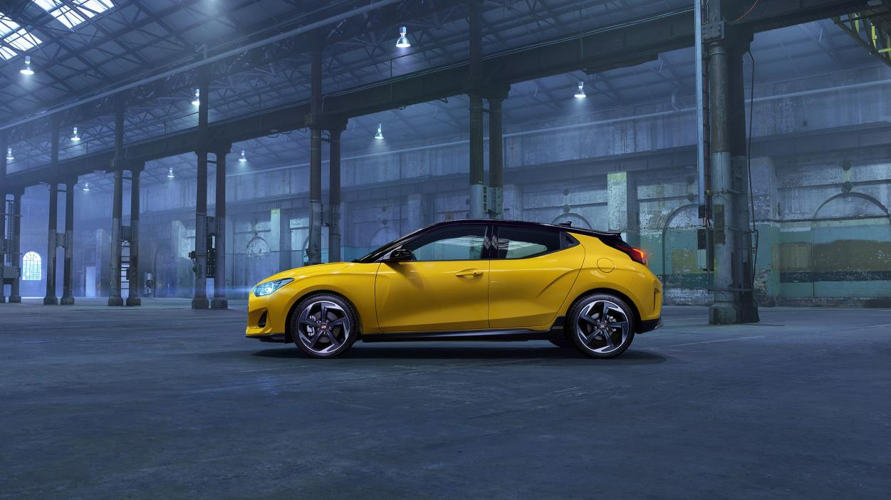 Hyundai Veloster now with powertrain and chassis upgrades in the second series with more driver focused performance features.