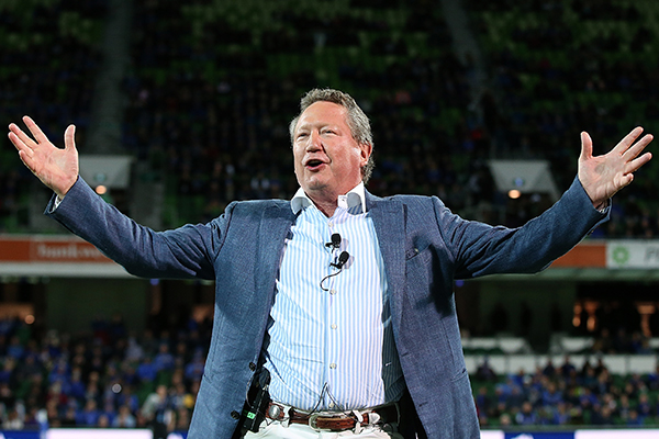 'Go and hide!': Alan Jones rips into Andrew 'Twiggy' Forrest