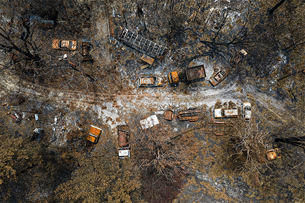 Bushfire victim to spend second winter in caravan as supply scarcity continues