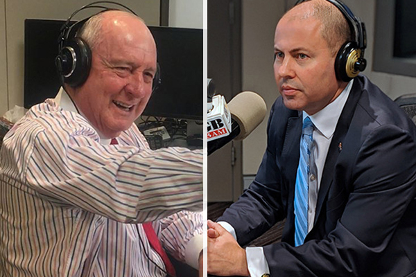 Article image for Alan Jones and Josh Frydenberg form bond over one great passion