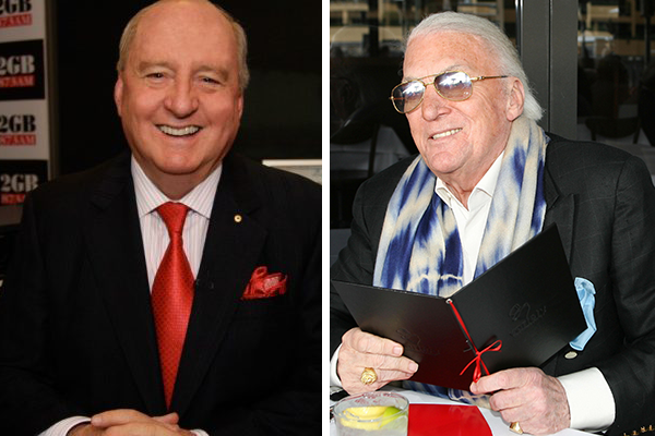 From one radio great to another: John Laws calls in to pay tribute to Alan Jones