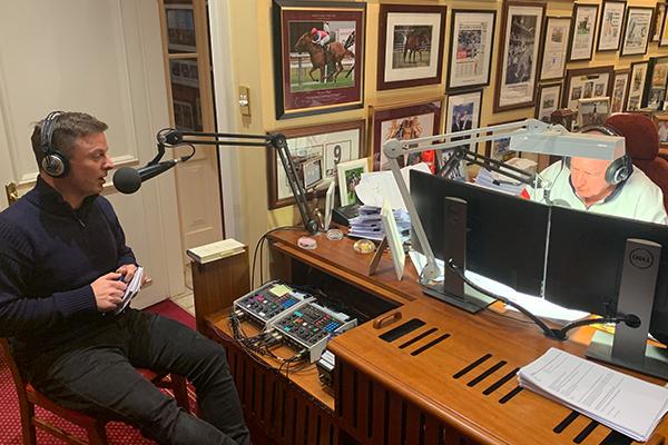 Ben Fordham visits Alan Jones ahead of his big debut