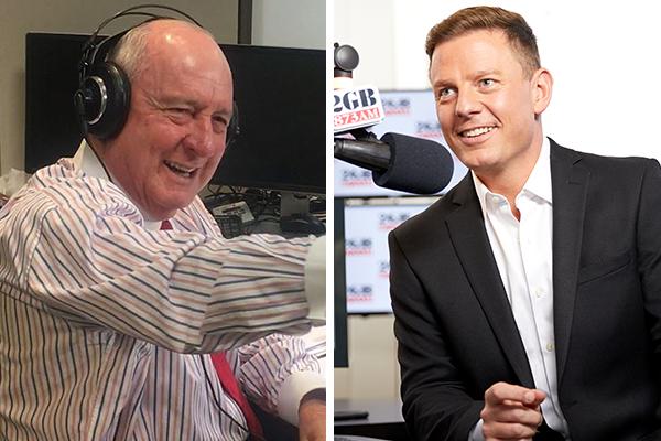 'You'll have my support': Alan Jones endorses successor Ben Fordham