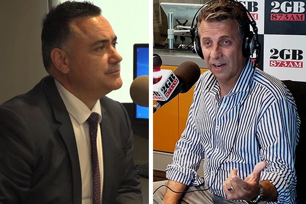 Article image for Deputy Premier John Barilaro breaks his silence on public spat