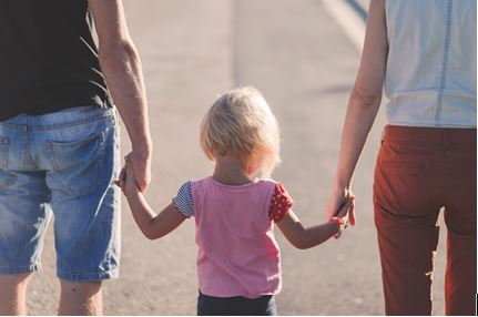 'Don't do it in front of your children': Step-parents reminded to put kids first