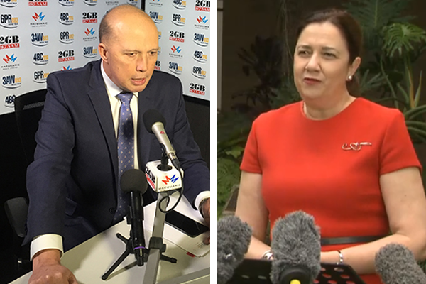 Peter Dutton accuses QLD Premier of putting NRL before COVID outbreak
