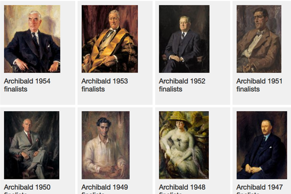 Article image for The search is on for hundreds of missing portraits