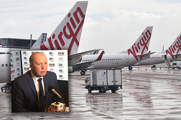Article image for 'They don't have one dollar in the bank': Peter Dutton slams QLD's airline bid