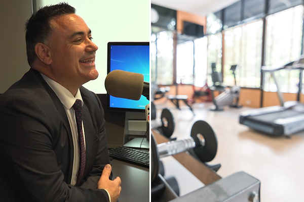 Article image for EXCLUSIVE | Deputy Premier 'confident' gyms will reopen by July