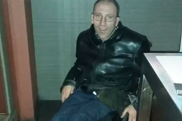 Article image for 'Inspiring' wheelchair-bound man's message after ATM robbery