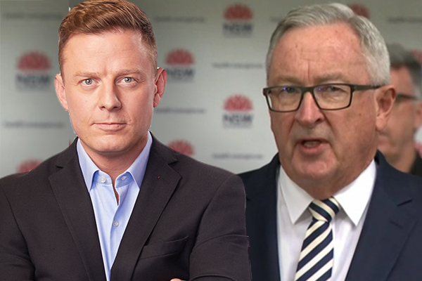 Article image for 'Heads will roll!': Ben Fordham's fiery clash with Health Minister