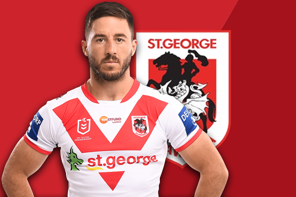 Eight months without family motivates Dragons captain to join NRL ad campaign