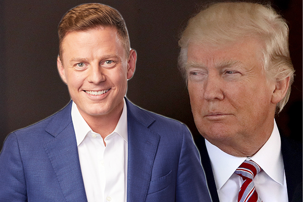 Article image for Ben Fordham urges Donald Trump to 'step up'