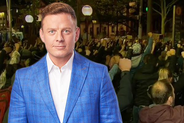 Article image for 'This is madness!': Ben Fordham blasts double standard as protest given green light