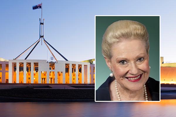 Bronwyn Bishop honoured as trailblazer for women in politics