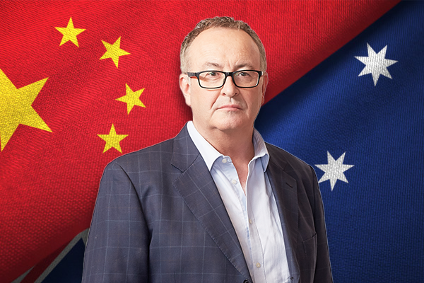 Chinese government 'toying with Australia' in offshore act of intimidation