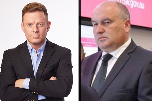 Ben Fordham goes head-to-head with Police Minister over protests