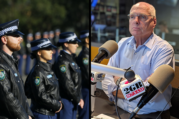 Greens 'idiocy' met with anger from politicians as police recruits are sworn in