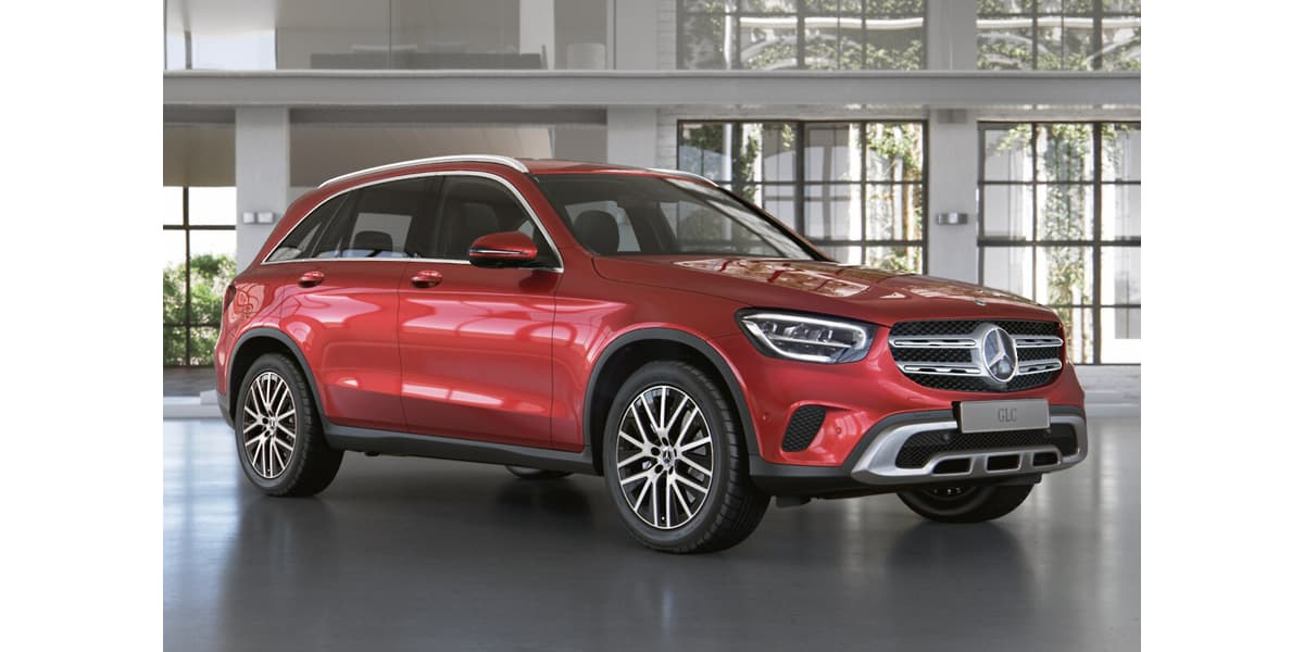 Mercedes-Benz GLC – the perfect package size for a premium medium sized SUV