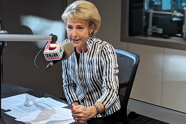 Michaelia Cash dodges questions on grim unemployment forecast