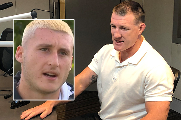 'He's a two-faced coward': Paul Gallen tears into Mark Carroll over Bronson Xerri comments