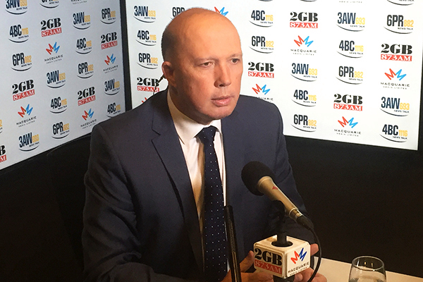 Article image for Child abusing 'animals' can't hide behind their screens, warns Peter Dutton