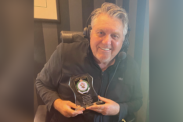 Retiring police officer's personal thank you to Ray Hadley