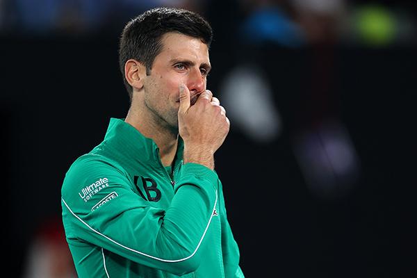 Article image for Novak Djokovic tests positive for coronavirus