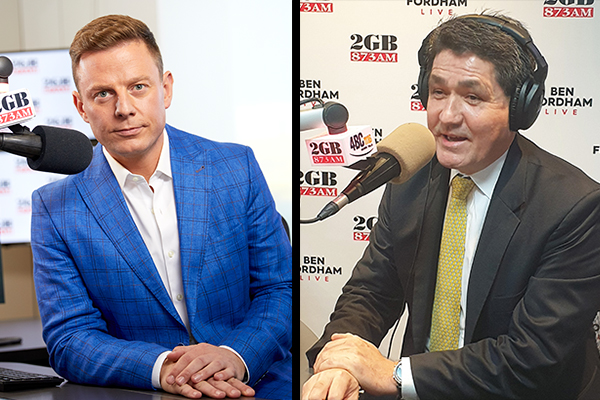 Ben Fordham goes head-to-head with Sports Minister over Powerhouse move