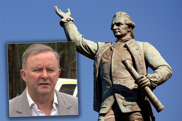 'You can't rewrite history': Anthony Albanese supports keeping statues