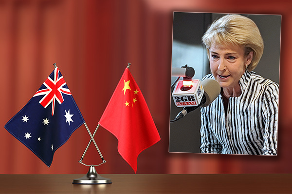 Article image for Michaelia Cash backs the Prime Minister amid racism accusations from China