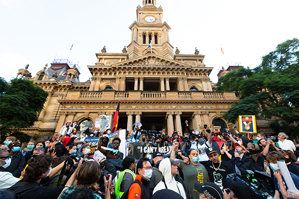 Article image for Sydney protest could lead to a return of COVID-19 restrictions