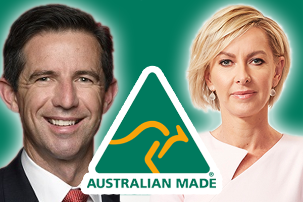 Article image for Deborah Knight clashes with Trade Minister over $10 million rebrand