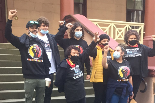 Greens MPs sponsor BLM protesters to gather at Parliament House