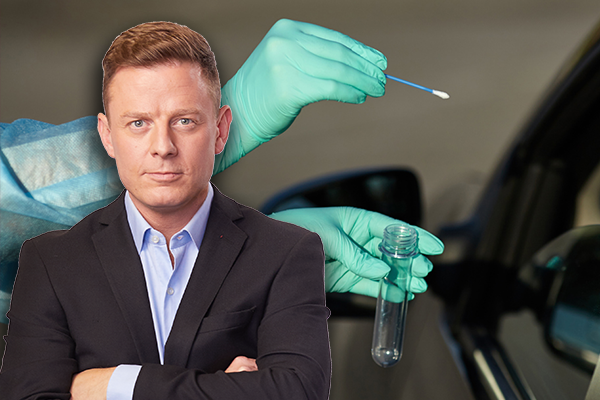 Article image for 'Stop being so selfish': Ben Fordham tears into test refusers