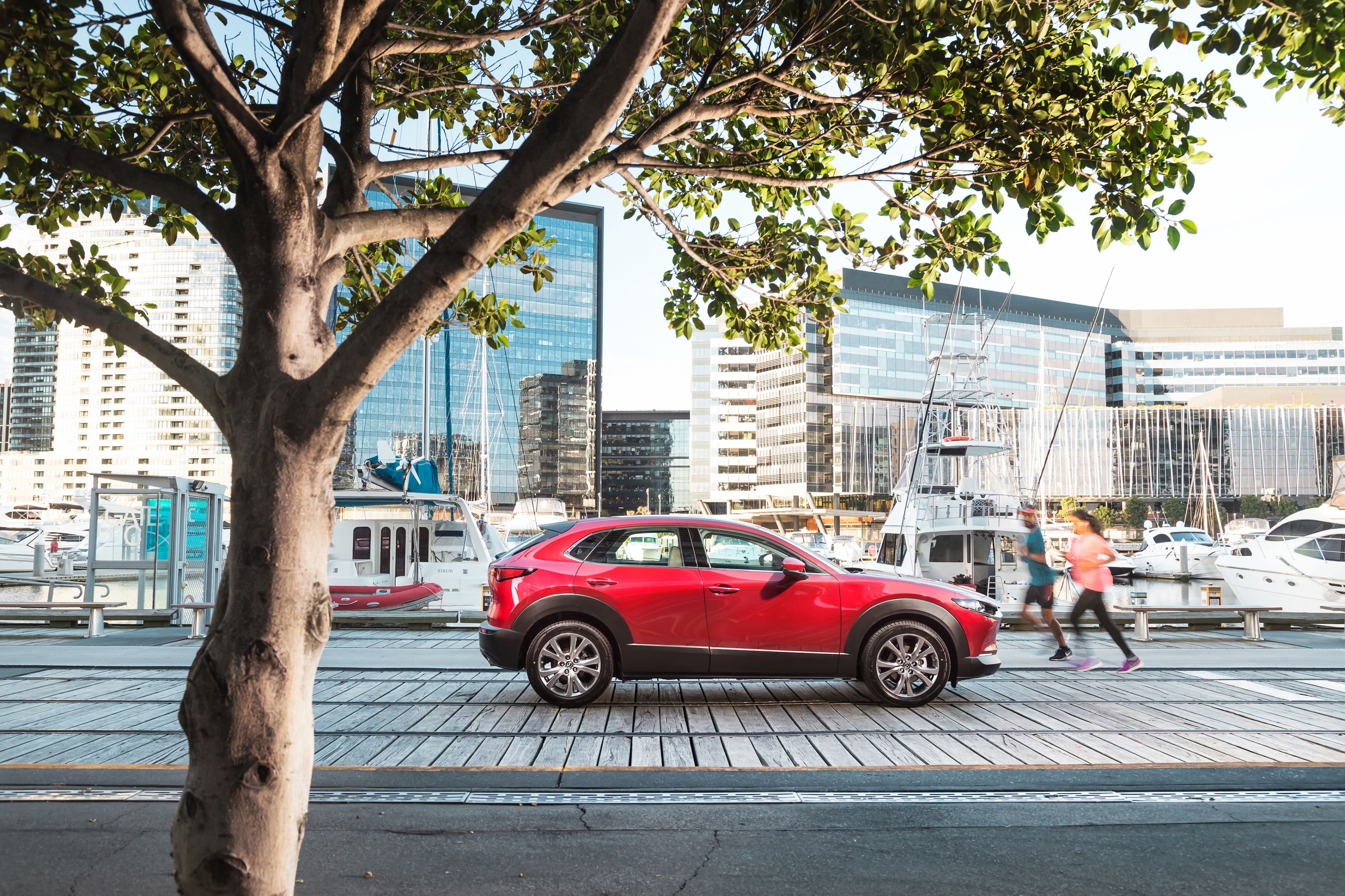 The Mazda CX-30 G20 Touring SUV – packed with features for $34,990.